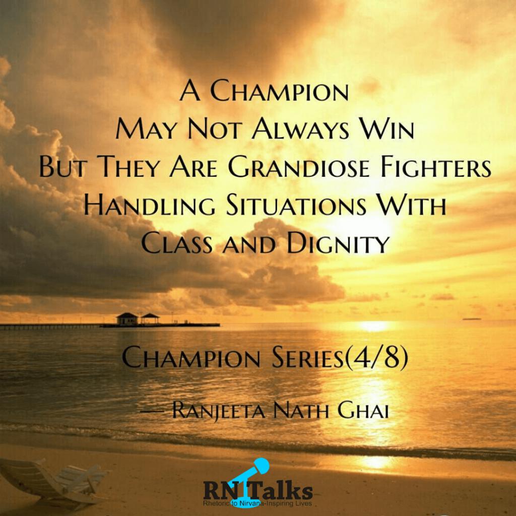 12 Ways A Champion Thinks