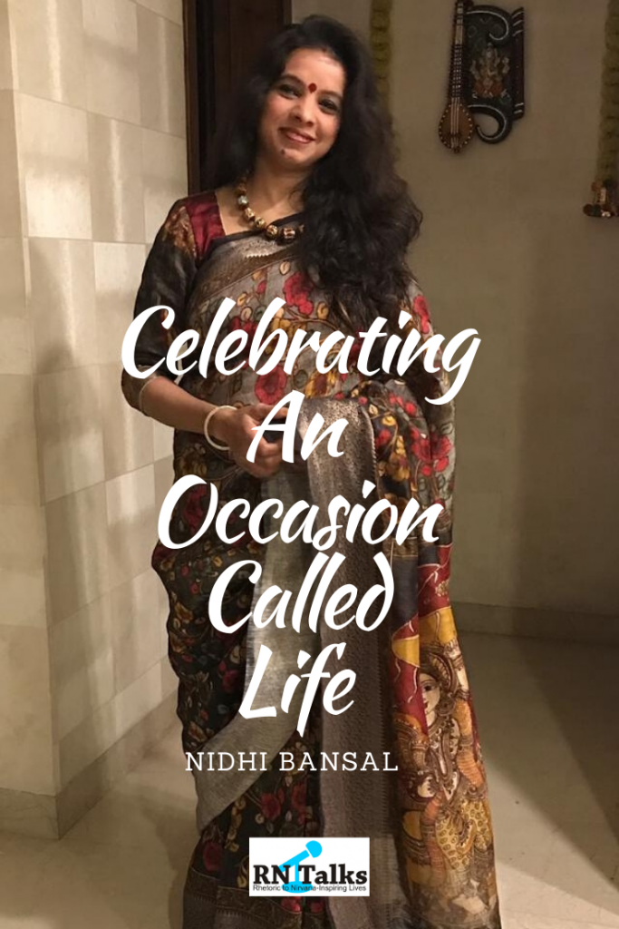 Celebrating An Occasion Called Life
