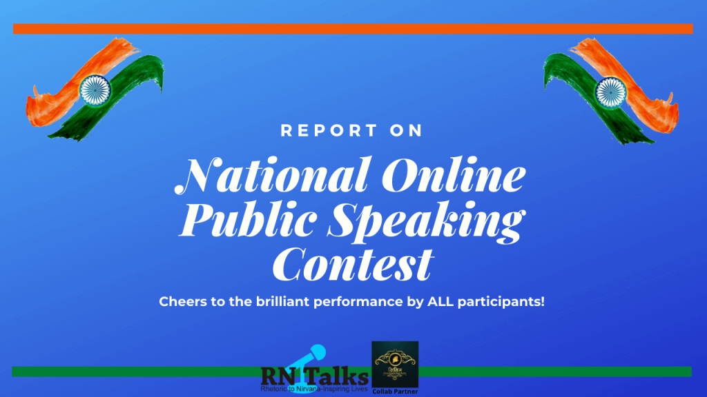 National Online Public Speaking Contest