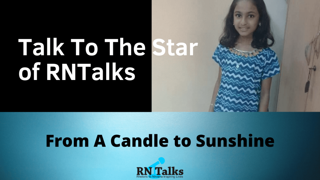 Talk To The Star Public Speaking Contest-Interview With Mekhla Sengupta