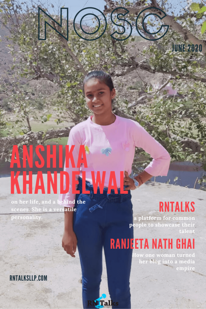 Anshika Khandelwal Shares Her Life with RNTalks