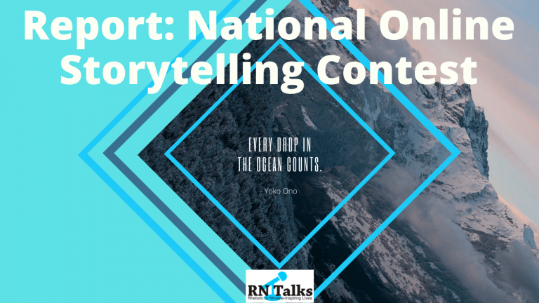 Report: Katha sagar National Online Storytelling Contest