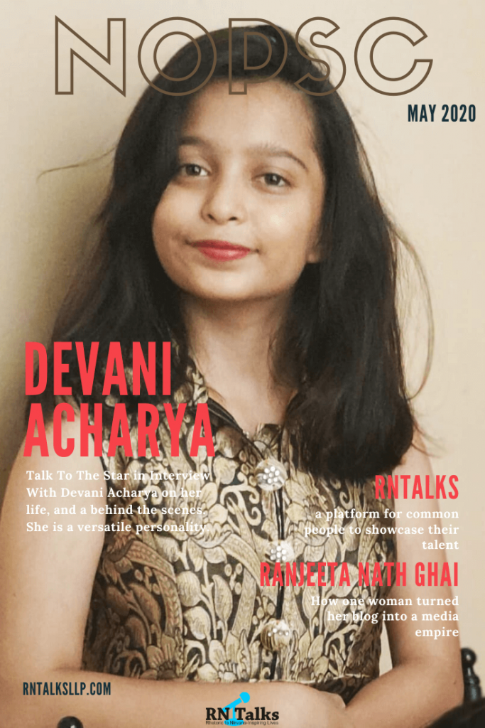 Talk To The Star: Public Speaking Contest-Interview With Devani Acharya: Public Speaking Contest-Interview With Devani Acharya