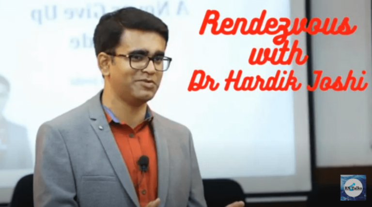 Rendezvous With Dr Hardik Joshi