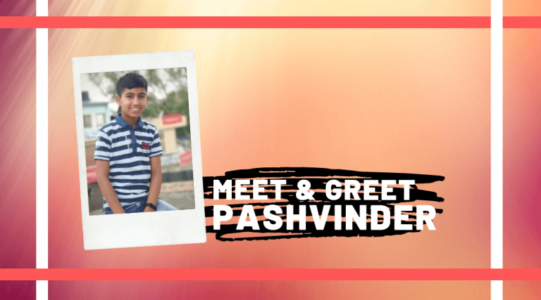 Meet and Greet Pashvinder