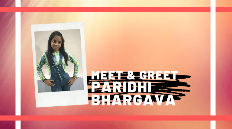 Meet and Greet Paridhi Bhargava