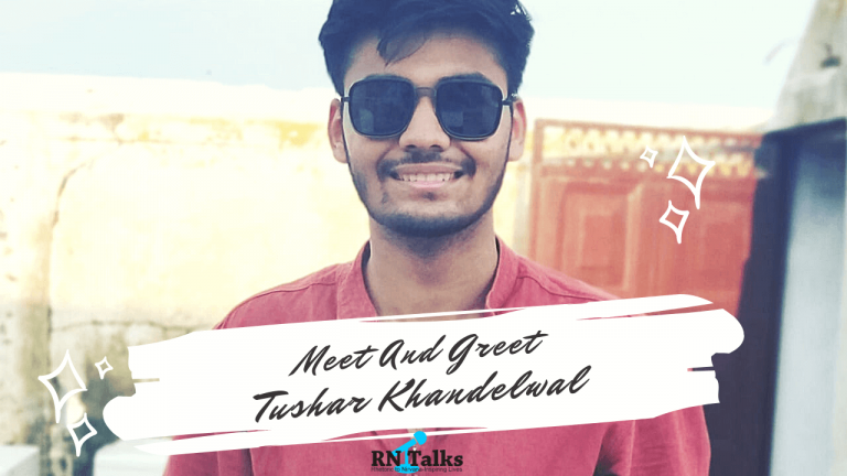Meet And Greet Tushar Khandelwal