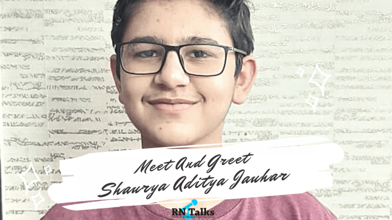 Meet And Greet Shaurya Aditya Jauhar