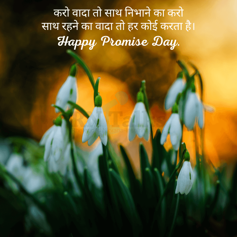 Best Promise Day Quotes In Hindi
