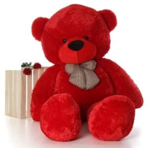BIGSTEP 3 feet Teddy Bear for Girls Soft Stuffed Lovable Hugable Non-Toxic Fabric Cute Teddy Bear for Birthday / Anniversary / Valentine / Gift Teddy Bear