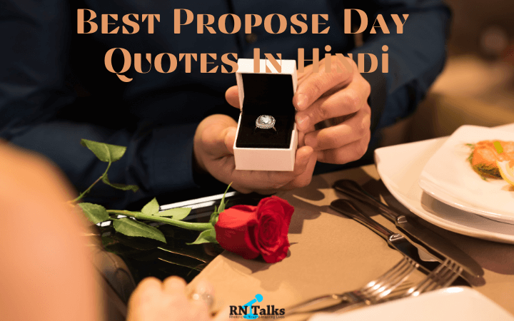 Best Propose Day Quotes and Status in Hindi