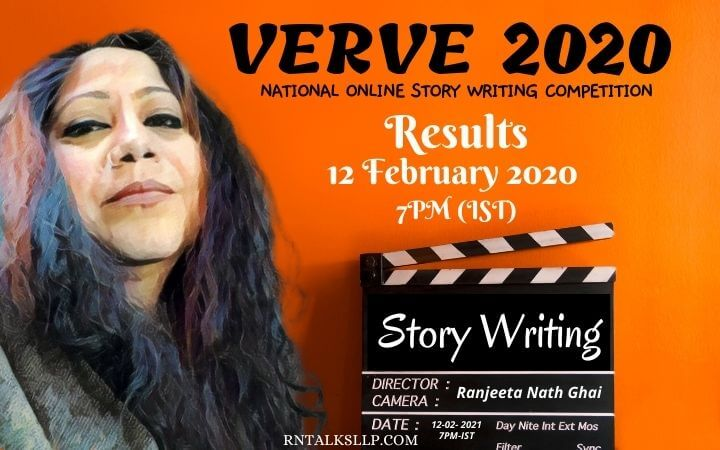 Report and Results of VERVE 2020: Online Story Writing Competition