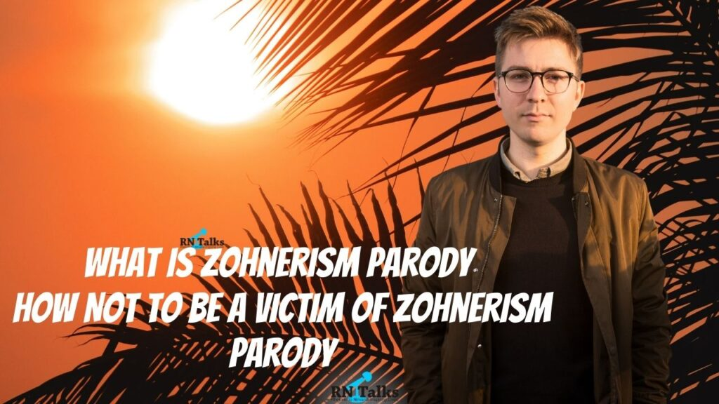 What is Zohnerism Parody How Not To Be a Victim Of Zohnerism Parody