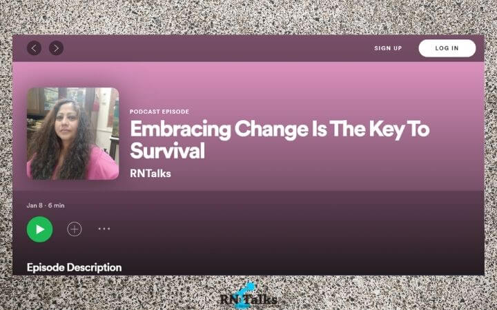Podcast: Embracing Change Is The Key To Survival