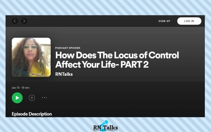 Podcast: How Does The Locus of Control Affect Your Life- PART 2