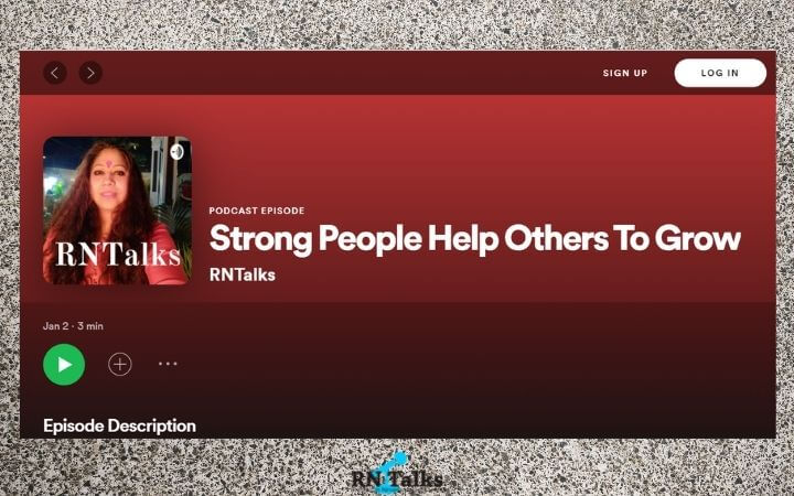 Podcast: Strong People Help Others To Grow