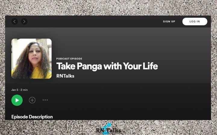 Podcast: Take Panga with Your Life