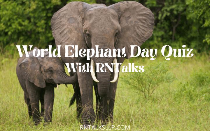 Best World Elephant Day Quiz With RNTalks